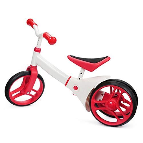 """DOS Kinder und Kleinkinder Walking Balance Training Bikes 2 bis 6 Jahre alte Mädchen und Jungen 12\""""Laufrad ohne Pedal Verstellbarer Griff und Sitz"""