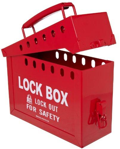 Brady tragbar Gruppe Lock Box, Metall