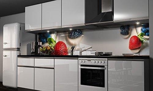 ❉ Küchenrückwand Erdbeere günstig kaufen durch Vergleichen ...