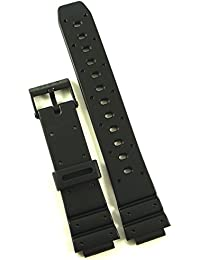 Genuine Casio Replacement Watch Bands for Casio Watch TGW-10-1VA, W-60U-1Z + Other models.