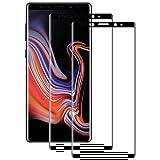 POOPHUNS Samsung Galaxy Note 9 Panzerglas Schutzfolie, 2 Stück, 9H Härte, Anti-Öl, Anti-Kratzer, Anti-Fingerabdruck, Gehärtetem Displayschutzfolie für Samsung Galaxy Note 9