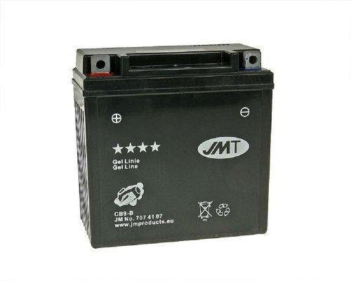Batterie JMT GEL - YB9-B / 12N9-4B1 12 Volt [ inkl.7.50 EUR Batteriepfand ]