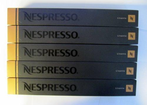 Order 50 pk Nesspresso Livanto Coffee Capsules by Nespresso