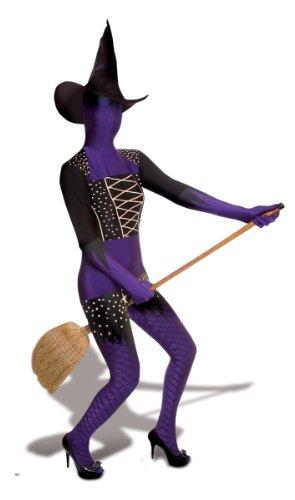 Morphsuits - Hexen-Kostüm für Damen L - 1,60m bis 1,80m