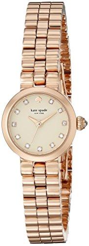 Kate Spade New York 1YRU0921 Gramercy pequeña rosa dorado pulsera Reloj de Wo Hombres Un tamaño Oro de Rose