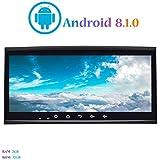 Android 8.1.0 Autoradio, Hi-azul 8.8 Pouces Car Radio Navigation GPS RAM 2G ROM 32G Stéréo Voiture pour Volkswagen Touareg/ T5 Multivan/Transporter (Autoradio)