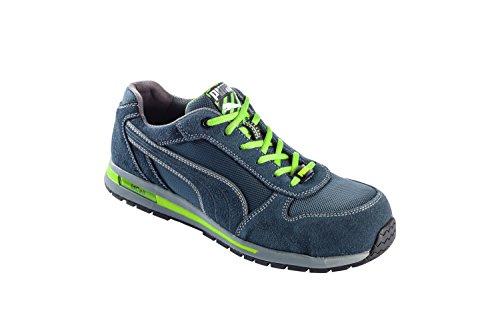 Chaussures de sécurité Puma Airtwist low bleues/vertes