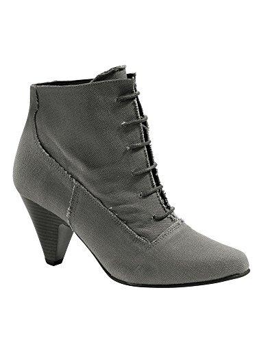 CHILLANY  Stiefelette, Chaussures bateau pour femme Gris - Anthrazit