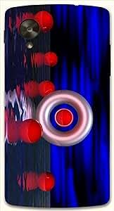 Wonderful multicolor printed protective REBEL mobile back cover for LG Nexus 5 / Google Nexus 5 D.No.N-L-14141-NX5