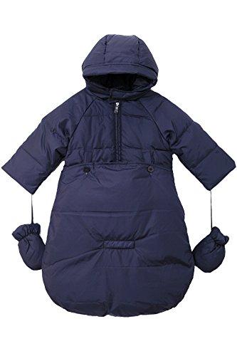 oceankids-tuta-da-neve-imbottita-avvolgente-blu-navy-da-bambino-neonato-9-12-mesi