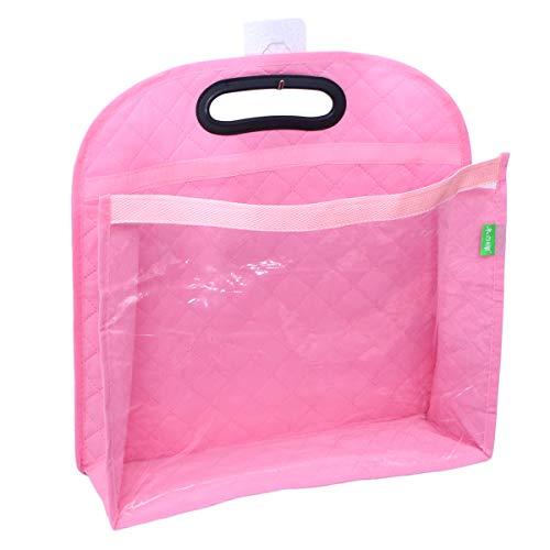Topbathy armadio armadio salvaspazio salvaspazio organizzatore porta borsa - taglia s (rosa)