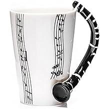 Tazza in ceramica smaltata music mug clarinetto. 00008 MUSICA TAZZE CLARINETTI