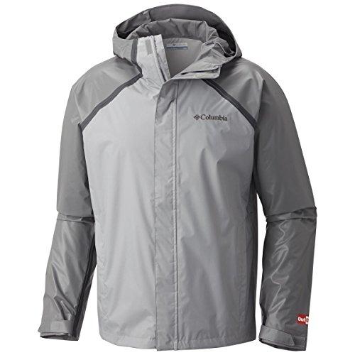 Columbia Men's Outdry Hybrid Jacket XLarge Grey/Titanium