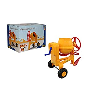 Polesie W0843757 Play Cement-Mixer with Hitch Bar Toy