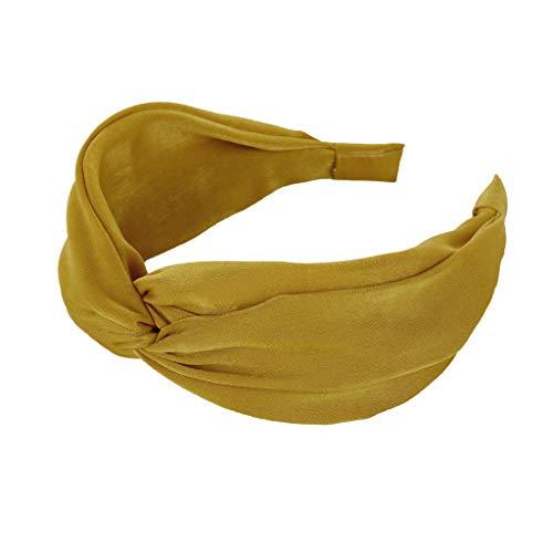 Stirnband Damen Sport Solide einfache haarband haarkopf hoop süße mädchen haarband