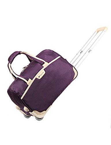 Licht Faltbare Trolley Tasche Wasserdichte Oxford Tuch Laufkatze Fall Gepäck Tasche ( Farbe : 3 , größe : 49*28*28cm ) 3