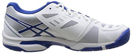 ASICS Gel-Solution Lyte 2 Herrren Tennisschuhe Weiß (0142-White/Blue/Lightning)