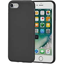 AmazonBasics - Cover con superficie ruvida, iPhone 8 / 7, Nero