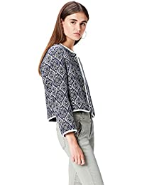 FIND Women's Jacquard Cropped Jacket