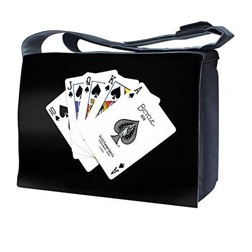 LUXBURG® 17,3 Zoll Messenger Bag Umhängetasche Laptoptasche Notebooktasche mit Tragegurt Tasche für Laptop / Notebook Computer