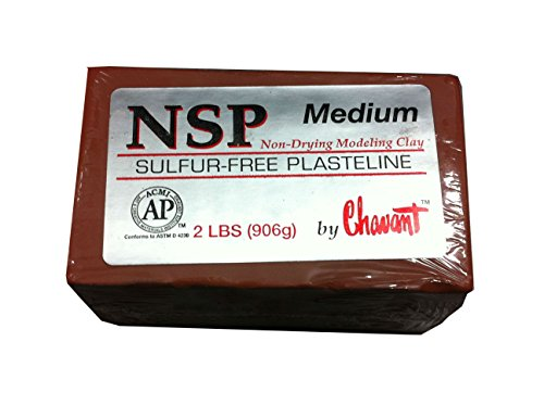chavant-nsp-non-drying-sulphur-free-sculpting-clay-2lb-900g-bar-medium