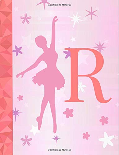 R: Ballet Notebook for Girls ~ Wide Ruled Composition Notebook 8.5