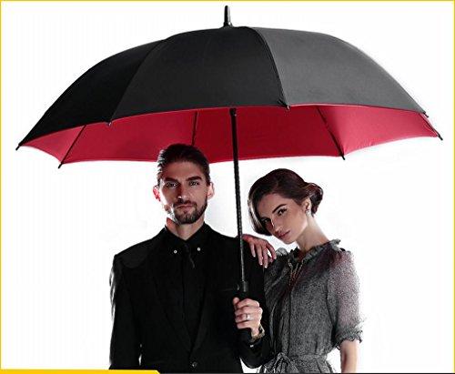 S umbrella Automatique Parapluie Golf Planche Droite Pliante Pluie Pluie Publicitaire Parapluie Automatique Parapluie Set,Photo Couleur
