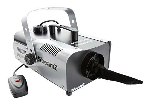 Beamz Snow900 Schneemaschine Fernbedienung 1 Liter 900W Fluid Test