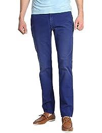 Armani Jeans Hommes Chinos Bleu V6P20CG-65