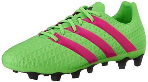 Adidas Performance Ace 16,4 Fg / ag FuÃ?ballschuh, schwarz / Schock Rosa / Schock Grün, 6,5 M Us Grün/Pink/Schwarz (Shock Green/Shock Pink/Black)