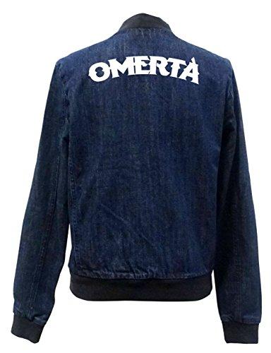 Omerta Jeans Bomberjacke Certified Freak-XL