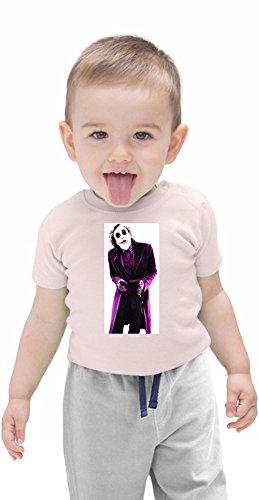 Joker Organic Baby T-shirt 12 - 18 Months (Onesies Batman Robin Und)