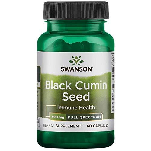 Swanson - Semi di Cumino Nero (Black Cumin Seed / Nigella Sativa) 400mg, 60 Capsule Full Spectrum®