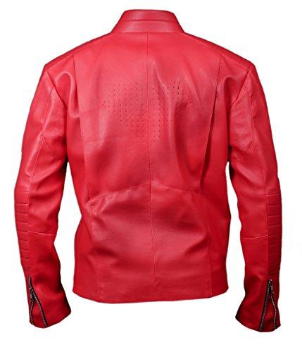 F&H Men's Superman Jacket red