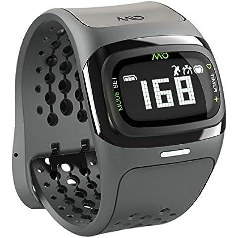 Mio Alpha 2 - Monitor de Frecuencia Cardiaca, color negro, talla Taille L