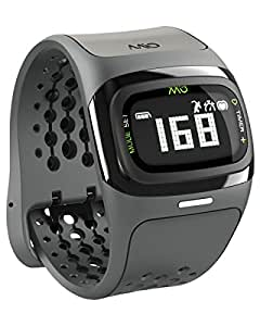 Mio Alpha 2 Heart Rate Monitor Sports Watch, Regular (Black)
