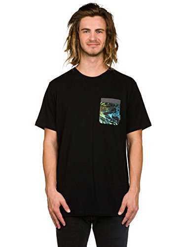 Herren T-Shirt Billabong Transmit T-Shirt Black