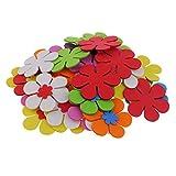 Bienvenido a MagiDeal. Buenos productos con excelente calidad y precio razonable. Su satisfacción es nuestro objetivo final.                       Descripción:               - 40pcs multi colores mezclaron formas de flores esp...