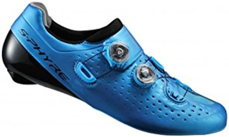 Shimano Schuhe Weg s phyre RC9 sh rc900sb blau Größe 39 5 (Schuhe Weg))
