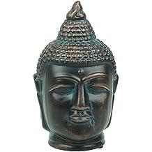 Cabeza de Buda de Diseño en Fibra de Vidrio para Decoración