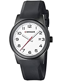 WENGER Herren-Armbanduhr SPORT DYNAMIC FIELD COLOR Analog Quarz Silikon 01.0441.150