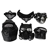 Calvin Twain528251 Motorcycle Bicycle Riding Winter Protective Safety Mask For Paintball Airsoft Game Motorcycle CS Military Shooting Tactical 6 Styles