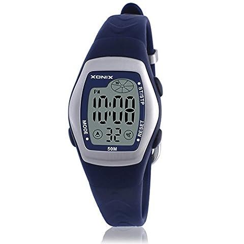RetroLEDMulti-Funktions-Digitaluhr/Wasserdichte schwimmen Mädchen Digitaluhr-G