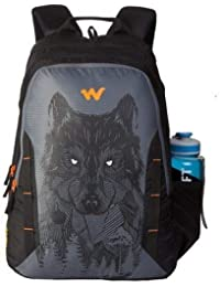 Wildcraft 44 Ltrs Wolf_Blk Casual Backpack (11629-Wolf_Blk)