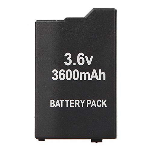 Leoboone Ersatz Slim + Batterie-Set Cover schwarz Tür verlängert für Sony PSP 2000 3000 -