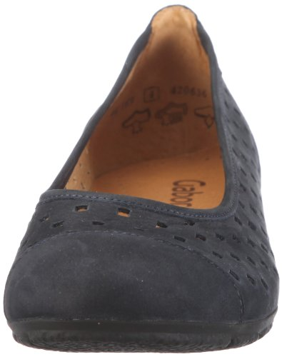 Gabor Shoes 4416916 Damen Ballerinas Blau (Nightblue)