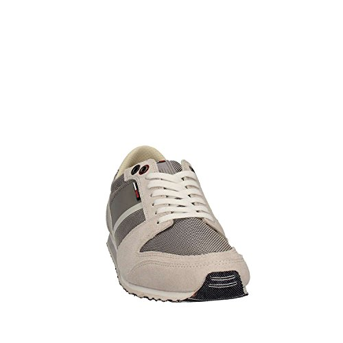 Tommy Hilfiger Herren S2385print 2c1 Sneakers Bianco