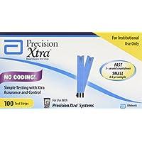 Precision Xtra Blood Glucose Test Strips 100 Ea preisvergleich bei billige-tabletten.eu