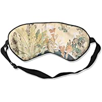 Eye Mask Eyeshade Plant Painting Sleeping Mask Blindfold Eyepatch Adjustable Head Strap preisvergleich bei billige-tabletten.eu