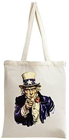 Uncle Sam I Want You For The U.S. Army Tote Bag